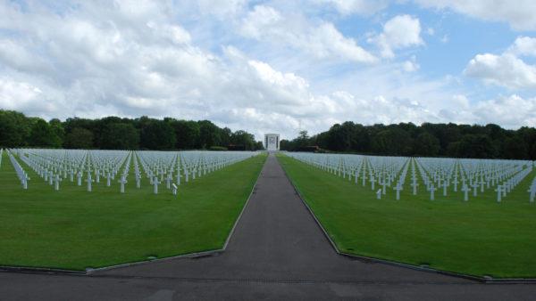 Amerikaanse Militaire Begraafplaats in Neupre