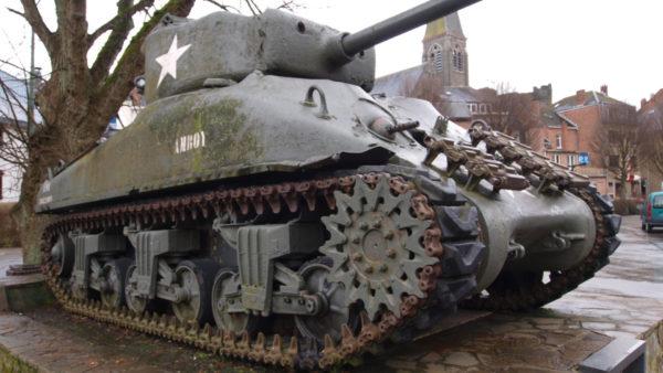 Amerikaanse Tank in La-Roche-en-Ardenne