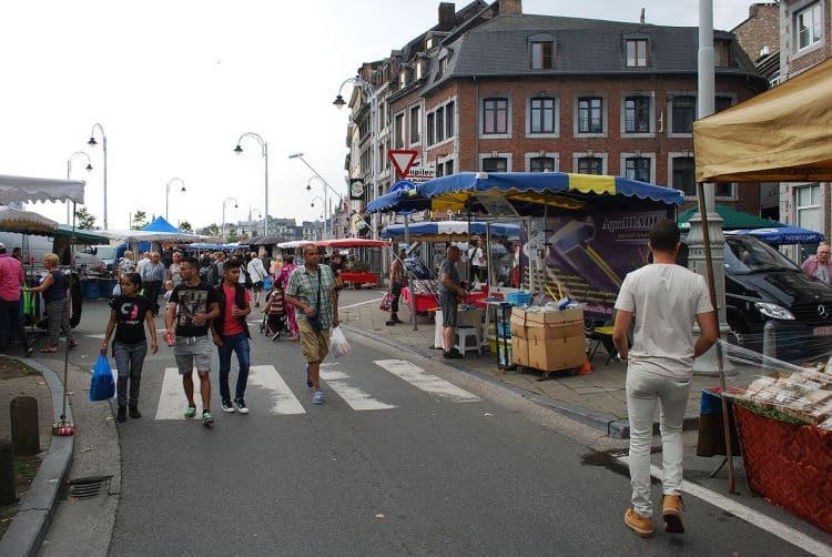 Luik winkelen