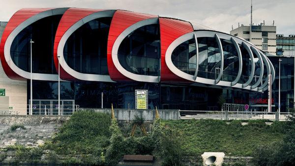 Mediacite winkelcentrum in Luik