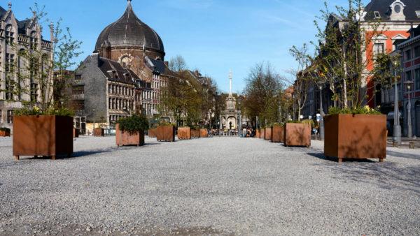 Place du Marché in Luik