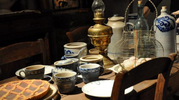 Pottenbakkerij museum in La Roche