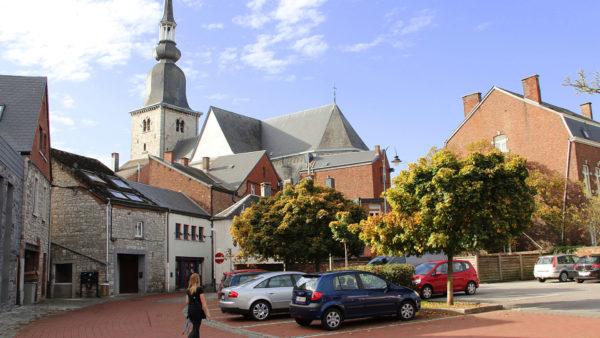 St-Remaclus kerk in Marche-en-Famenne