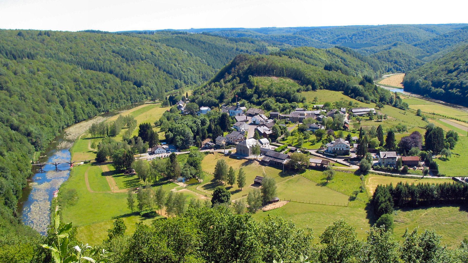 Gebieden en Streken in de Ardennen