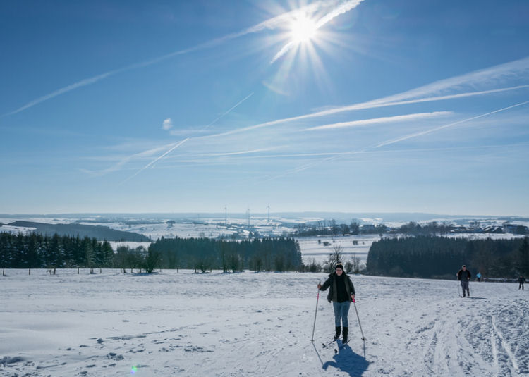 wintersport in de ardennen