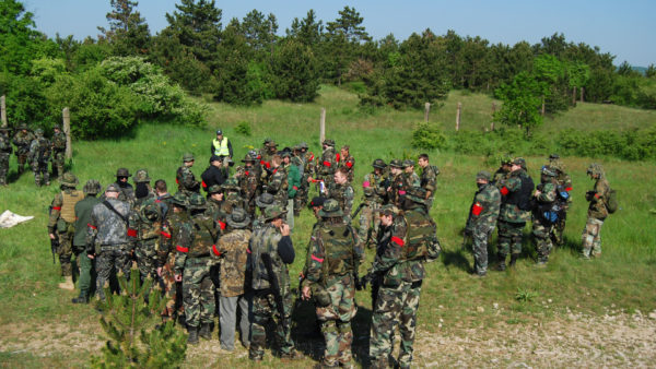 Airsoft in de Ardennen
