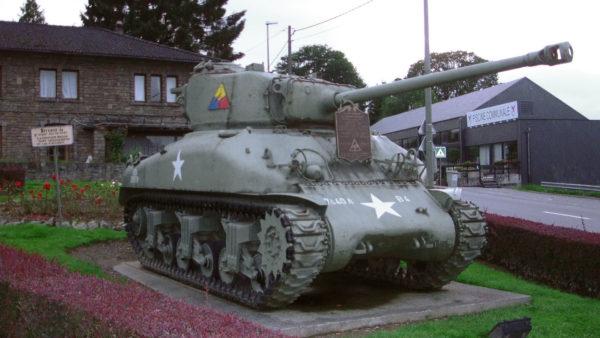 Amerikaanse Tank in Vielsalm