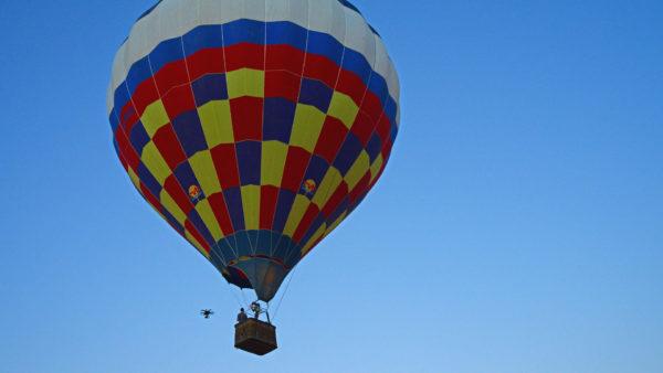Ballonvaren in de Ardennen