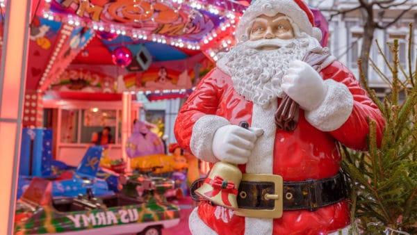 Kerstmarkt en IJsbaan in Durbuy