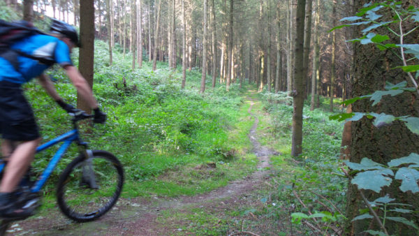 Mountainbiken in Houffalize