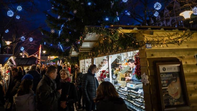 Kerstmarkt in Luik Liege