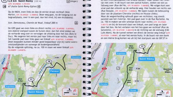 Reisgidsen en landkaarten