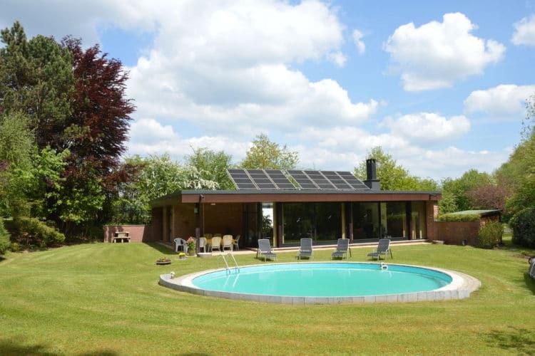 vakantiehuis in Spa met zwembad