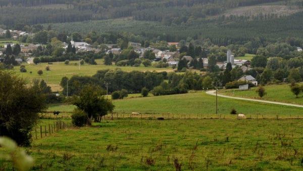 Wandeling door de vallei van de Ourthe en de Laval