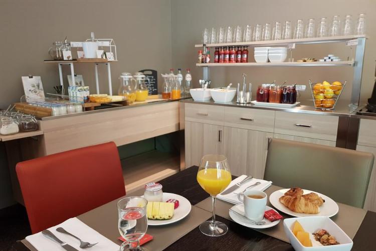 Heerlijk ontbijt in Hotel de la Source