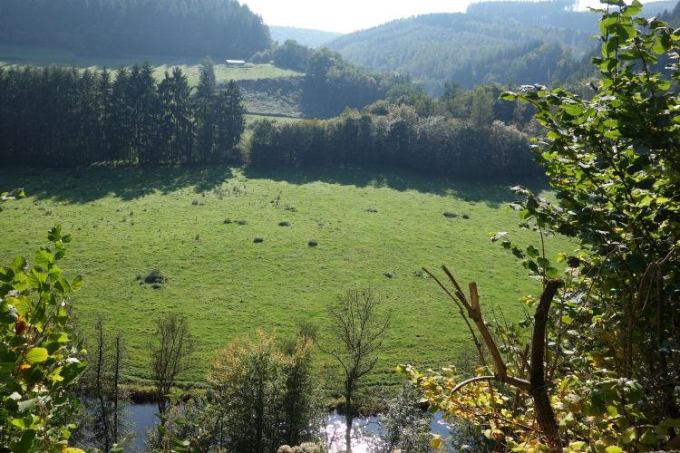 Uitzicht bij Borzée