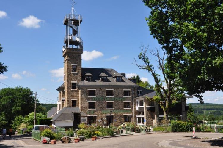 Hotel Le Belvédère in Nadrin