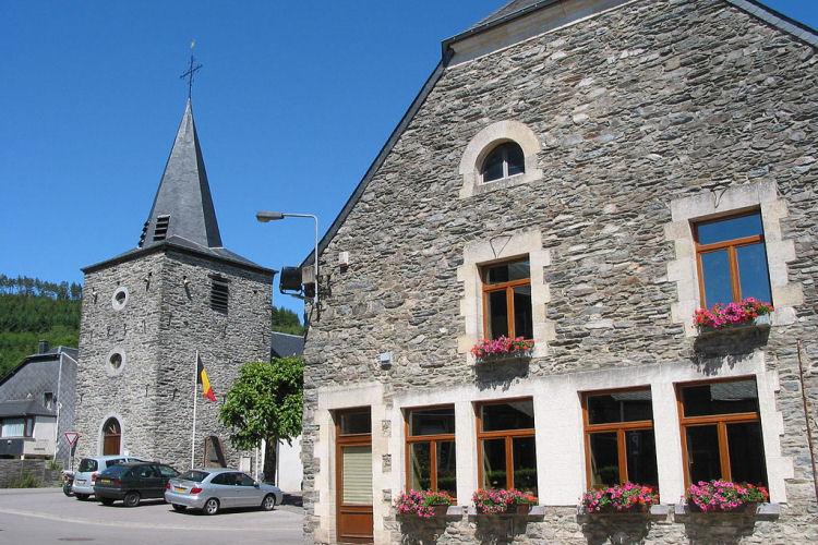 Centrum van Vresse-sur-Semois