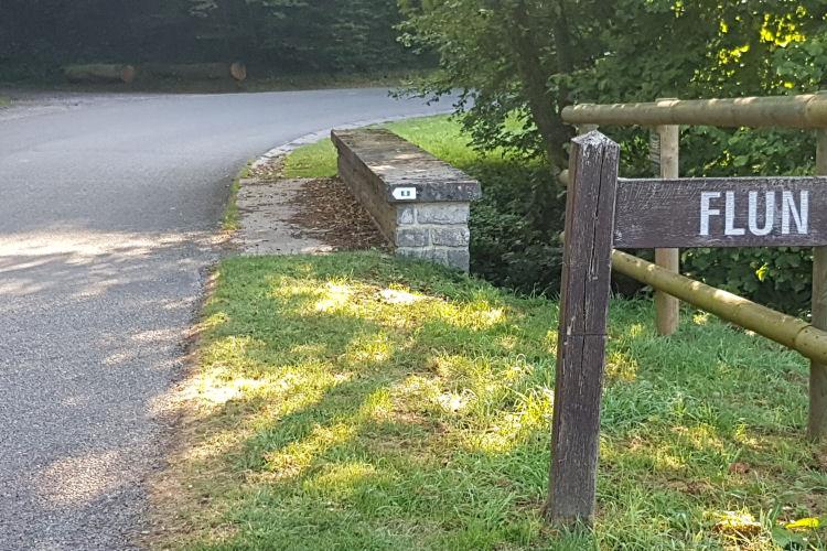 Stenen brug bij Flun