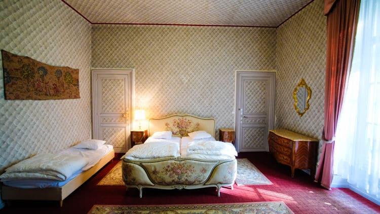 Koninklijk slapen in de Louis XIV kamer