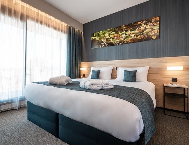 Luxe één- en tweepersoonskamer Golden Lakes Hotel