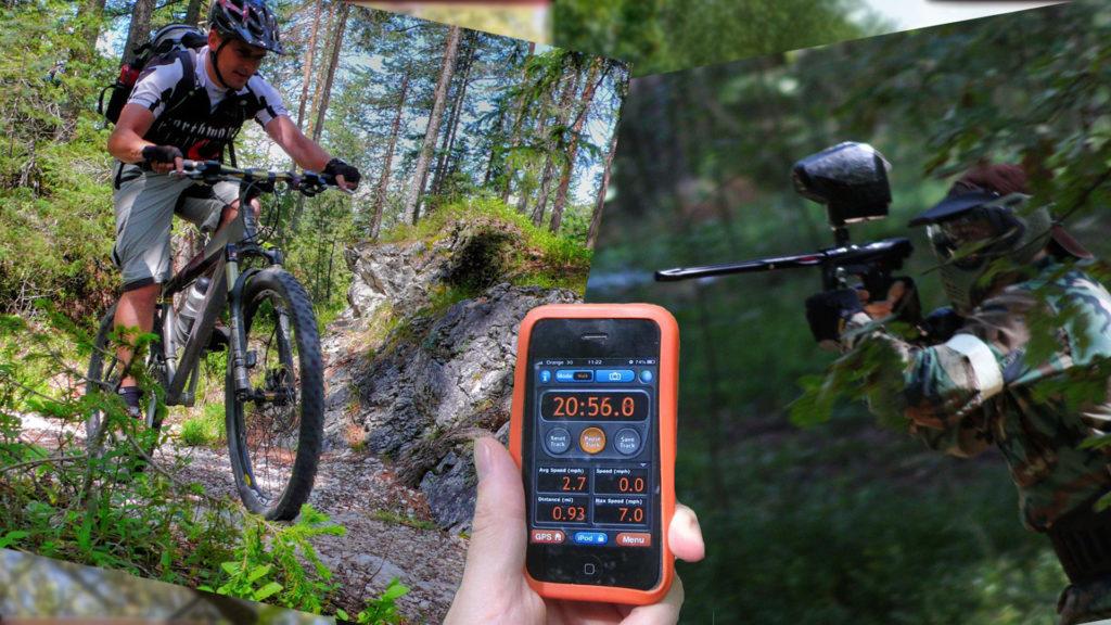 Dagprogramma Paintball + GPS Wandeling + ATB