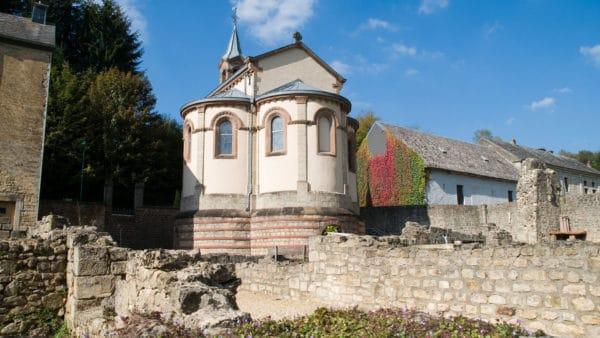 Wandeling rond de abdij van Clairefontaine