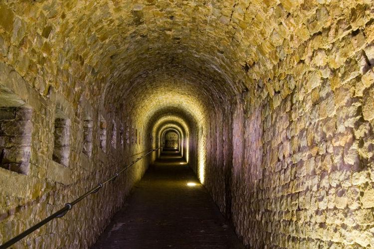 Citadel van Namur souterrains