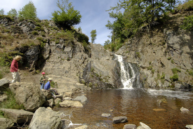 Wandeling naar de Waterval van de Bayehon