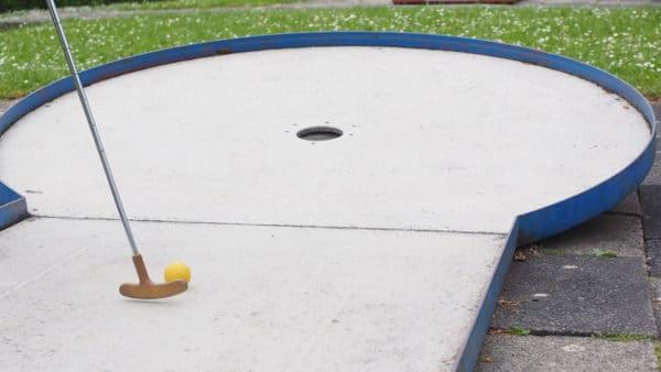Minigolf in Durbuy