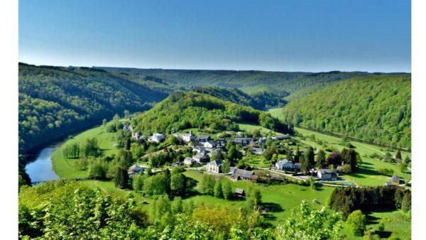 Panorama van Rochehaut