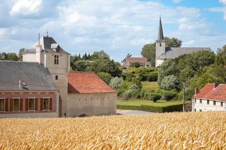 Mélin, een van de mooiste dorpen van Wallonië