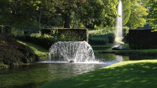 Romantische wandeling in de Watertuinen van Annevoie