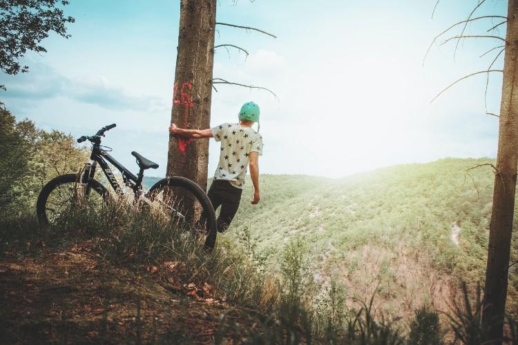 mountainbiken in de ardennen camping