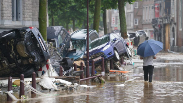 Wateroverlast en overstromingen in de Ardennen