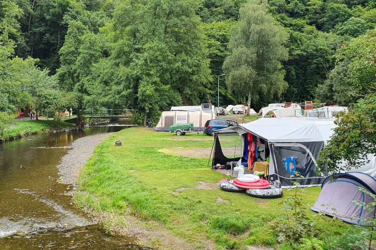 Wandelen over Camping Kautenbach