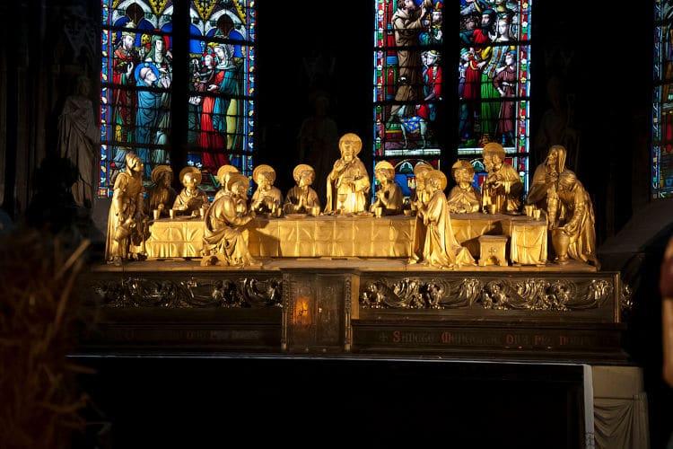 Collegiale Notre-Damekerk van Hoei kerkschat